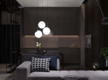 Using Dark Color Schemes For Small Homes: 3 Examples With Floor Plans images 6