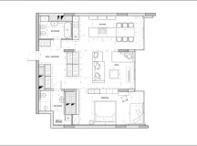 Using Dark Color Schemes For Small Homes: 3 Examples With Floor Plans images 34