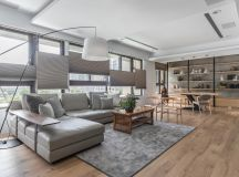 Open Plan Home Decor With Interesting Layers images 0