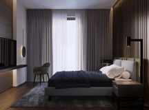 Using Dark Color Schemes For Small Homes: 3 Examples With Floor Plans images 10