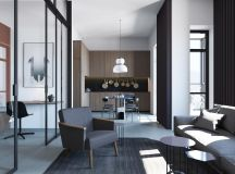 Chilled Out Modern Home in Muted Colour images 2