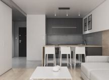Dark Grey, White & Wood Tone Decor With Personal Flair images 17