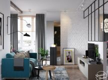 A Scandinavian Chic Style 3 Bedroom Apartment For A Young Family images 0