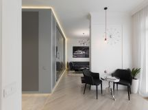 3 Modern Small Apartment Designs Under 50 Square Meters That Don't Sacrifice On Style [Includes Floor Plans] images 33