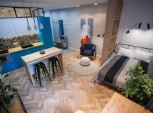 3 Modern Small Apartment Designs Under 50 Square Meters That Don't Sacrifice On Style [Includes Floor Plans] images 12