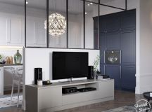 A Scandinavian Chic Style 3 Bedroom Apartment For A Young Family images 3