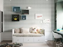 A Scandinavian Chic Style 3 Bedroom Apartment For A Young Family images 25