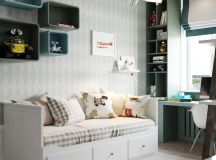 A Scandinavian Chic Style 3 Bedroom Apartment For A Young Family images 27