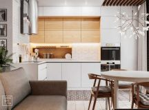 3 Modern Small Apartment Designs Under 50 Square Meters ...