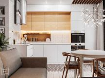 3 Modern Small Apartment Designs Under 50 Square Meters That Don't Sacrifice On Style [Includes Floor Plans] images 3