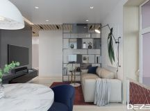 Three Apartments Using Pastel To Create Dreamy Interiors images 28