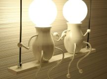 Cool Product Alert: Cute LED Wall Sconces.... : Interior ...