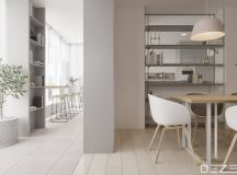 Three Apartments Using Pastel To Create Dreamy Interiors images 3