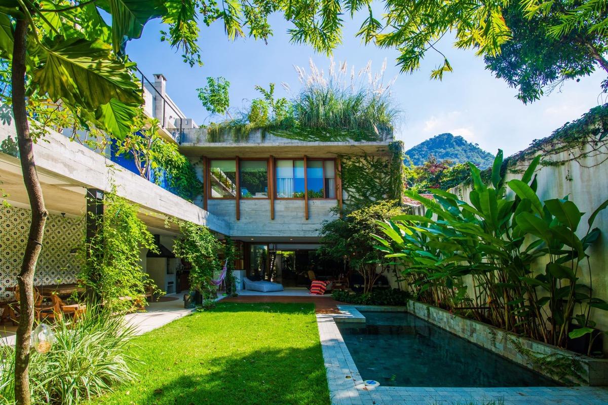 Prodigious! A Rio De Janeiro Residence With Lush Jungle Vibes