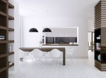 40 Minimalist Dining Rooms That Will Leave You Hungry to Copy Their Style images 18