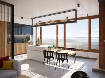 40 Minimalist Dining Rooms That Will Leave You Hungry to Copy Their Style images 24