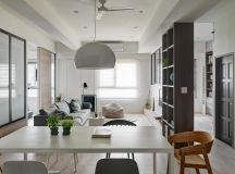 A Soothing, Earthy Color Scheme for a 3 Bedroom Home With Study [Includes Floor Plans] images 5