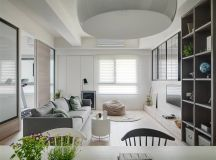 A Soothing, Earthy Color Scheme for a 3 Bedroom Home With Study [Includes Floor Plans] images 1