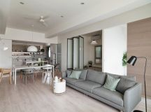 A Soothing, Earthy Color Scheme for a 3 Bedroom Home With Study [Includes Floor Plans] images 3