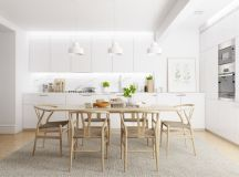 40 Minimalist Dining Rooms That Will Leave You Hungry to Copy Their Style images 10