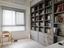 A Soothing, Earthy Color Scheme for a 3 Bedroom Home With Study [Includes Floor Plans] images 12