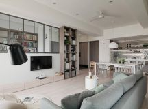 A Soothing, Earthy Color Scheme for a 3 Bedroom Home With Study [Includes Floor Plans] images 2