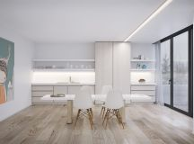 40 Minimalist Dining Rooms That Will Leave You Hungry to Copy Their Style images 28