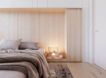 Functional Minimalist Home With Brave Colours And Bespoke Installations images 15