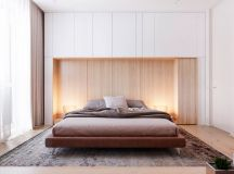 Functional Minimalist Home With Brave Colours And Bespoke Installations images 14