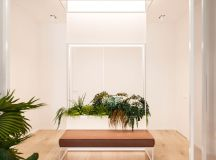 Functional Minimalist Home With Brave Colours And Bespoke Installations images 24