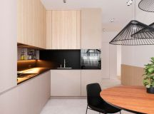 Functional Minimalist Home With Brave Colours And Bespoke Installations images 9