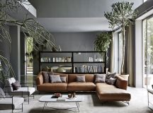 Living Rooms With Brown Sofas: Tips And Inspiration For Decorating Them images 3
