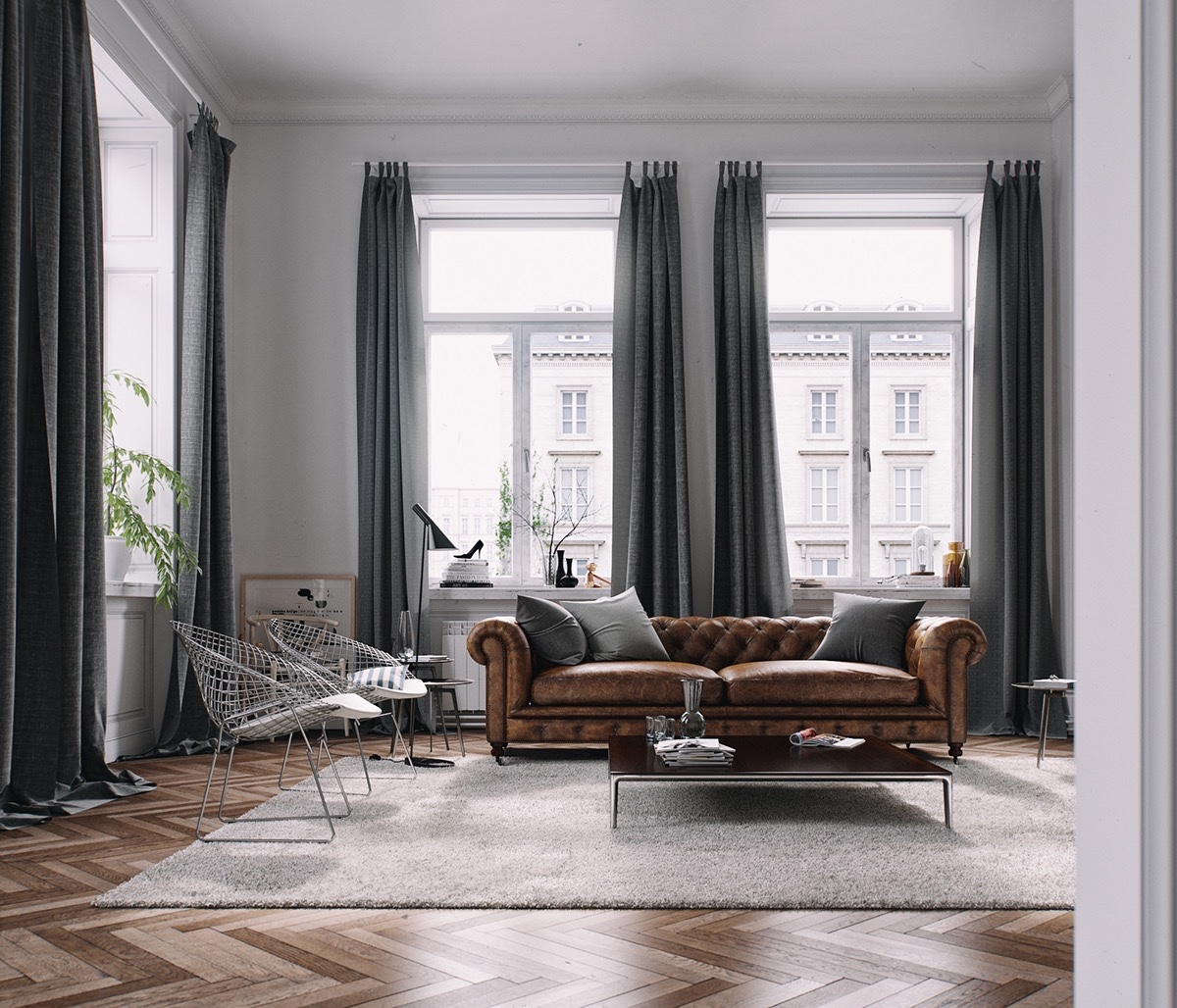 Living Rooms With Brown Sofas Tips & Inspiration For