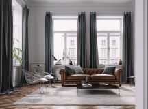Living Rooms With Brown Sofas: Tips And Inspiration For Decorating Them images 6