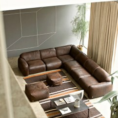 Living Room Design Ideas With Brown Leather Sofa Jonathan Adler Rooms Sofas Tips Inspiration For Decorating Them