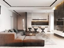 Living Rooms With Brown Sofas: Tips And Inspiration For Decorating Them images 22