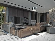 Living Rooms With Brown Sofas: Tips And Inspiration For Decorating Them images 4