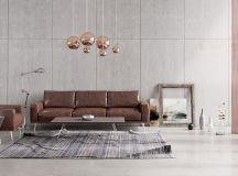 Living Rooms With Brown Sofas: Tips And Inspiration For Decorating Them images 0