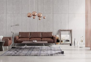 Living Rooms With Brown Sofas: Tips And Inspiration For Decorating Them
