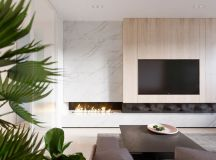 Functional Minimalist Home With Brave Colours And Bespoke Installations images 3