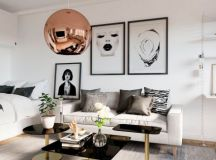 Small Modern Apartment Design With Asian And Scandinavian ...