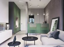 Modest Size Modern Interiors That Flirt With Feature Walls images 13