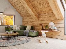 A Cozy Modern Rustic Cabin In The Trees images 1
