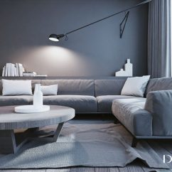 Area Rug In Small Living Room Gray And Taupe White & Grey Interior Design The Modern Minimalist Style