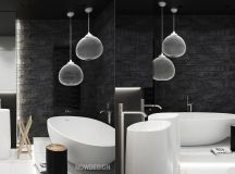 White & Grey Interior Design In The Modern Minimalist Style images 33