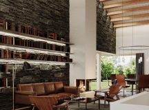 Living Rooms With Brown Sofas: Tips And Inspiration For Decorating Them images 10