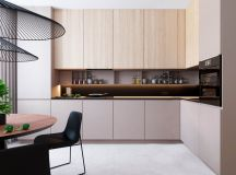 Functional Minimalist Home With Brave Colours And Bespoke Installations images 7