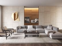 50 Modern Living Rooms That Act As Your Home's Centrepiece images 38