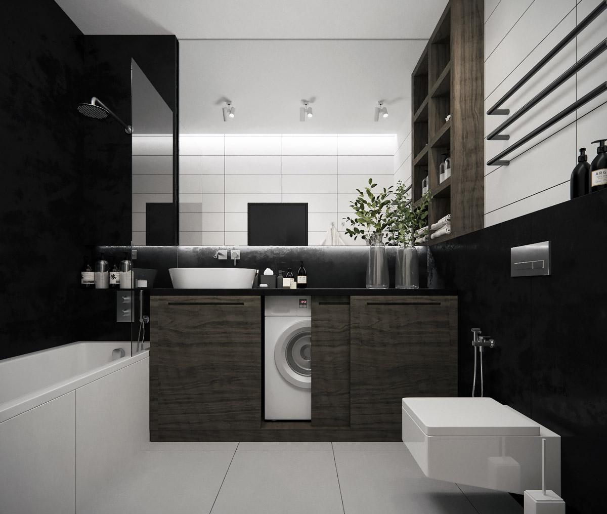 Grey And White Bathroom Decor