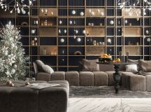 Living Rooms With Brown Sofas: Tips And Inspiration For Decorating Them images 5